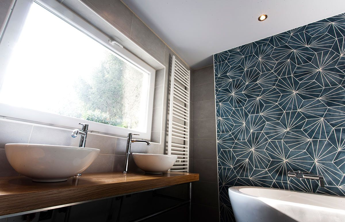 graphic tiles wild birds collective. Black Bedroom Furniture Sets. Home Design Ideas