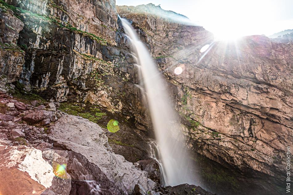 Les cascades d'Ighouliden au Maroc