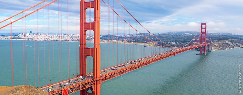 Traverser Le Golden Gate Bridge De San Francisco 224 V 233 Lo