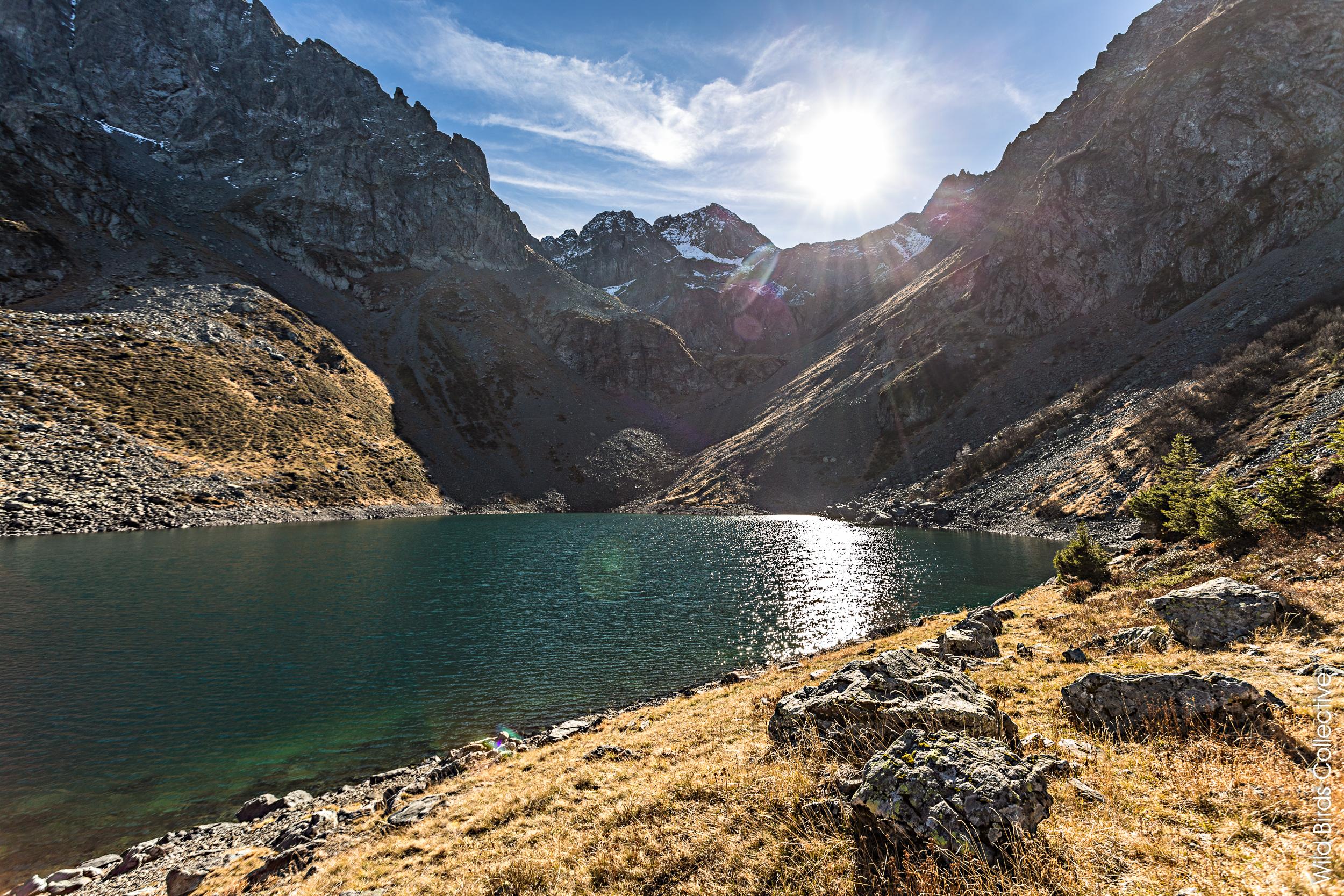 Rando Belledonne Lac de Crop