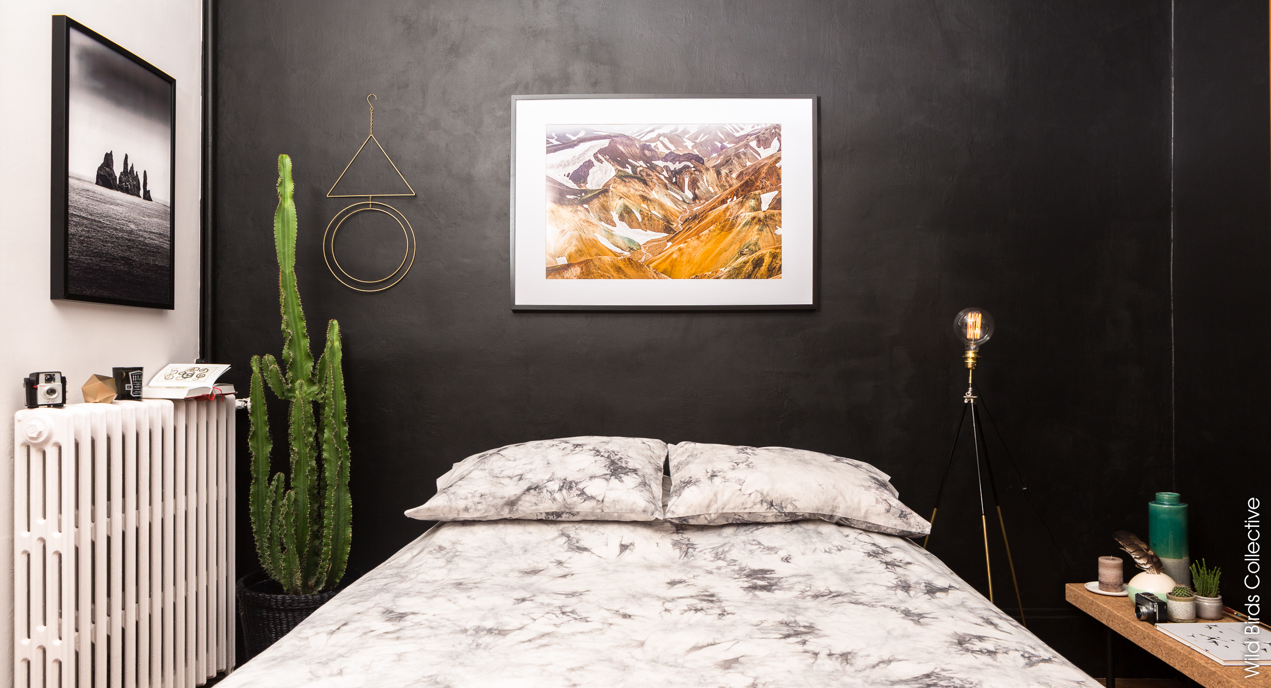 id e d co la peinture noire de dulux valentine wild birds collective. Black Bedroom Furniture Sets. Home Design Ideas