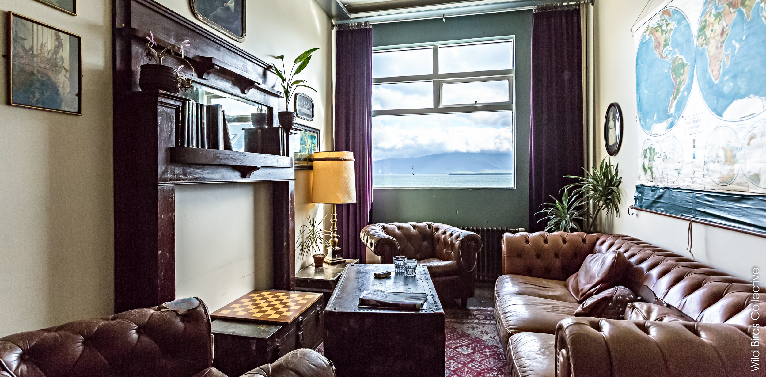 Salon boudoir, Kex Hostel