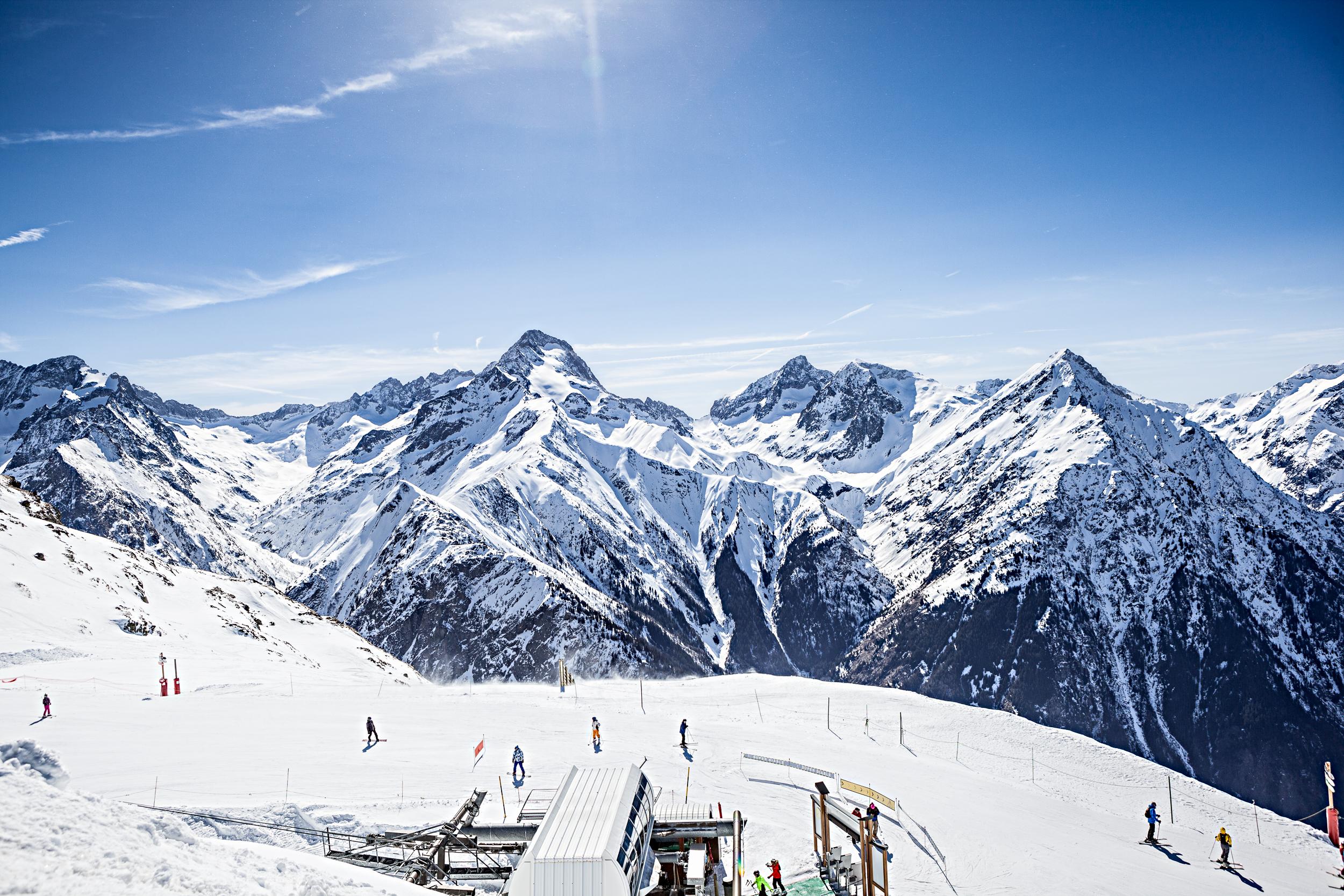 Pistes de ski des Deux-Alpes