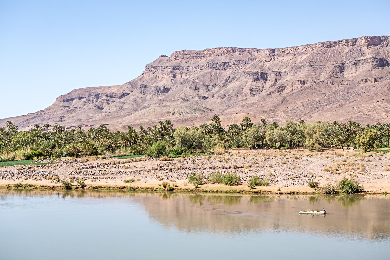 Le fleuve Dadès au Maroc