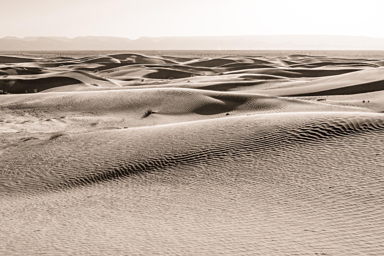 Désert de Foum Tissa au Maroc