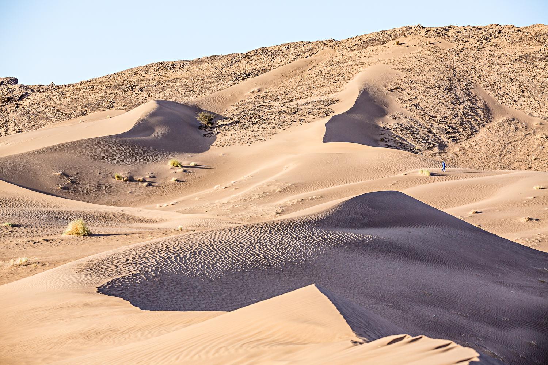 Crêtes de Foum Tizza au Maroc