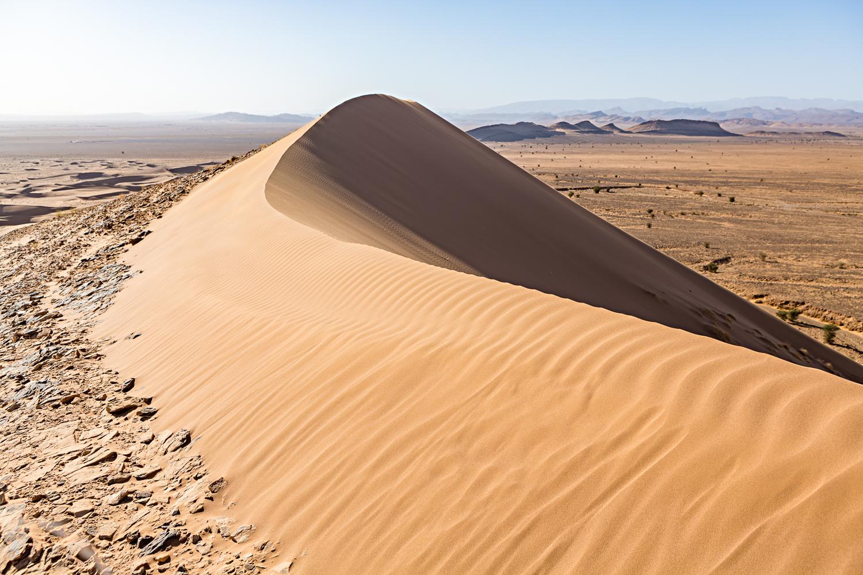 Dunes de Foum Tizza au Maroc
