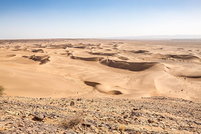 Désert de Foum Tizza au Maroc