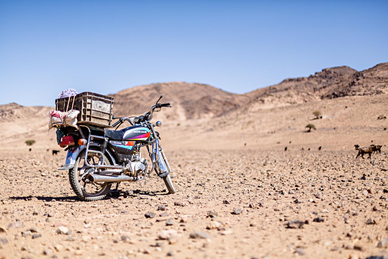 Moto au Maroc