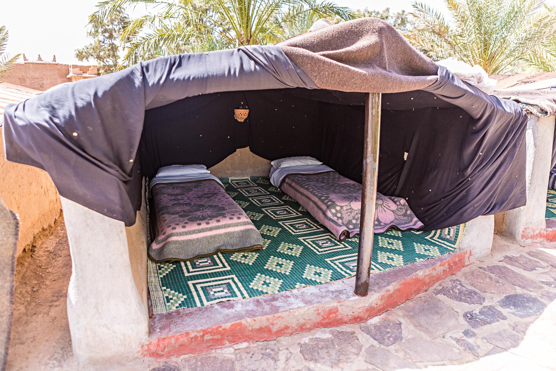 Camp Saredrar au Maroc