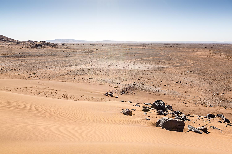 Djebel Saredrar au Maroc