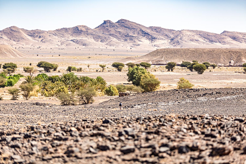 Trek au Maroc près de Saredrar