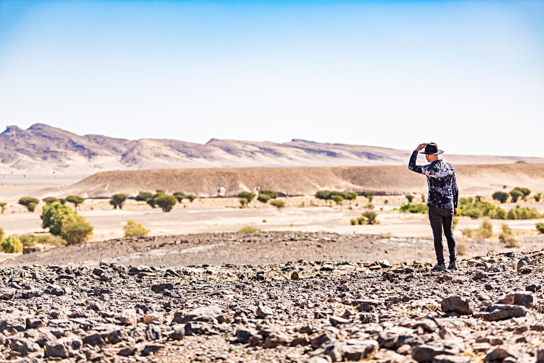 Les paysages désertiques du Maroc