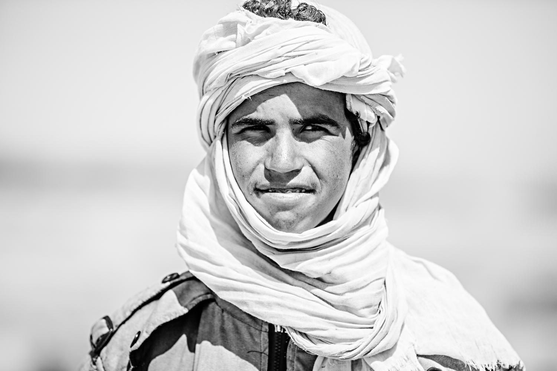 Eleveur de dromadaires au Maroc