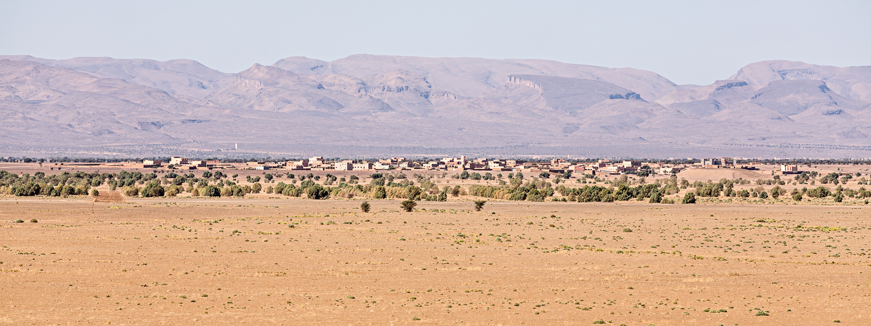 Village de Tarhbalt au Maroc