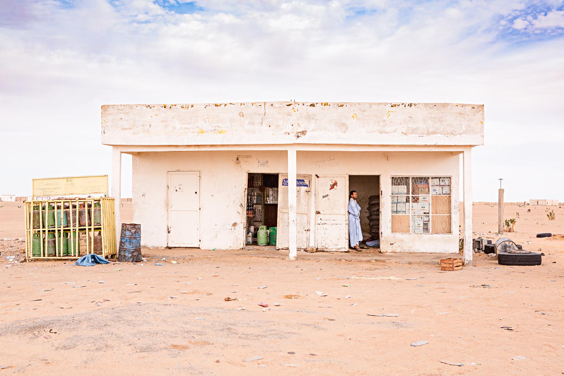 Station services Nouakchott Atar Mauritanie