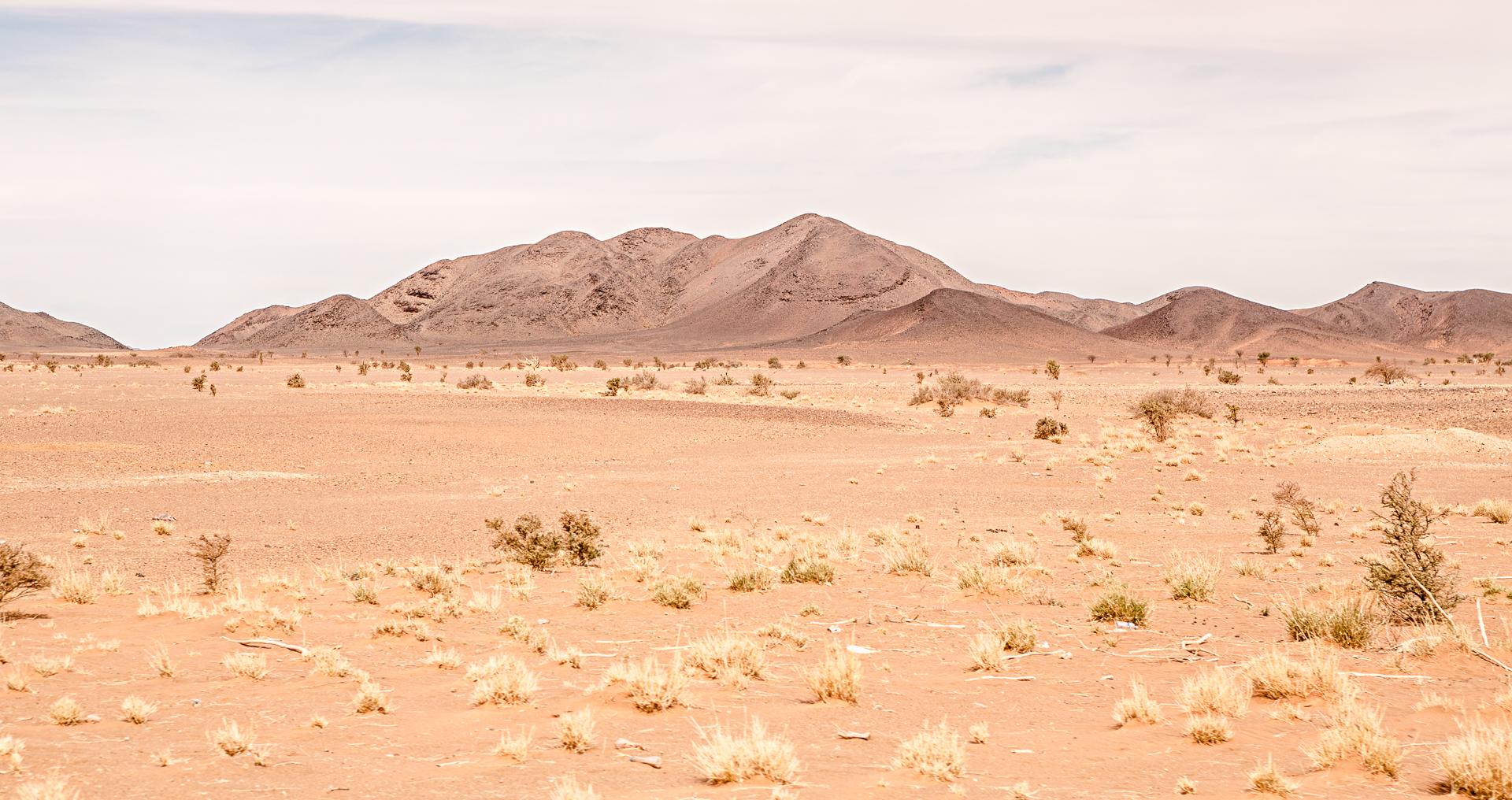 Montagnes entre Nouakchott et Atar Mauritanie
