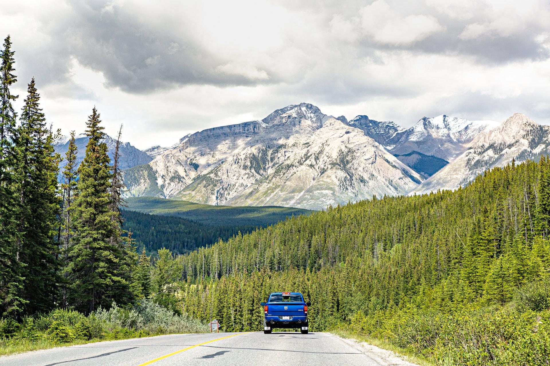 Road trip dans les Rocheuses canadiennes