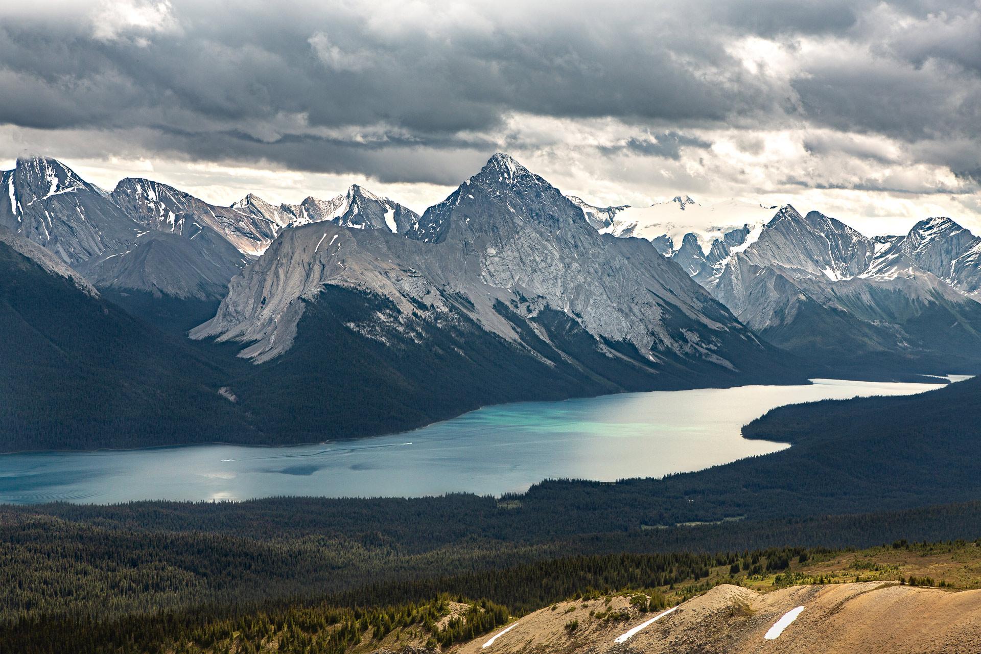 Maligne Lake Jasper Alberta Canada