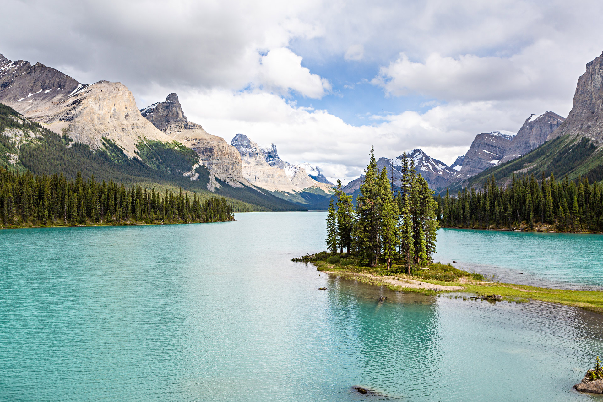 Spirit Island Jasper Alberta Canada