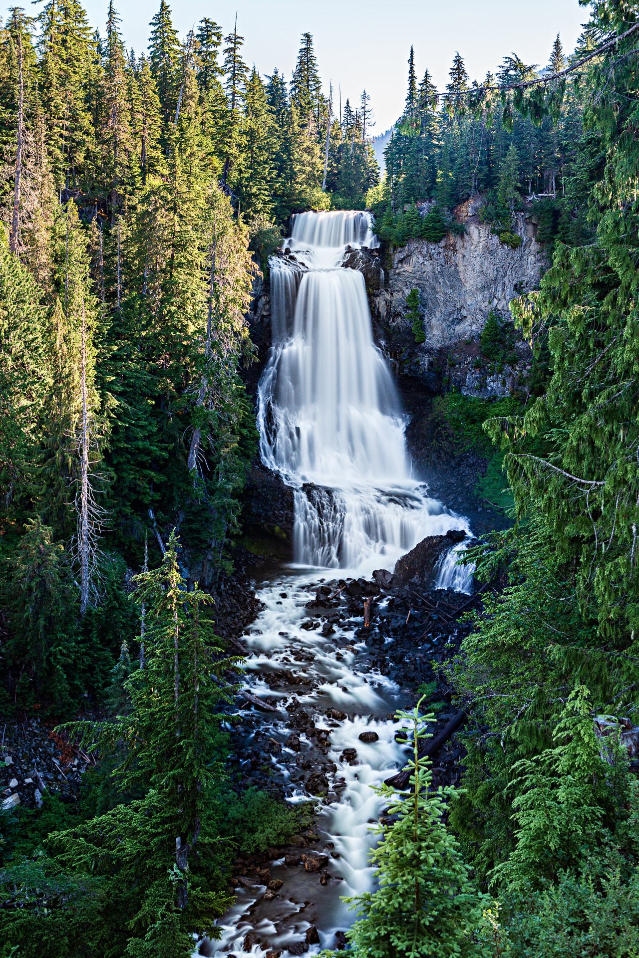 Alexander Falls Whistler Canada