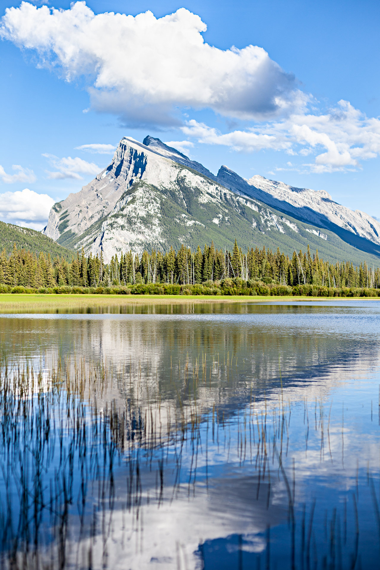Rundle Mount Banff Alberta Canada