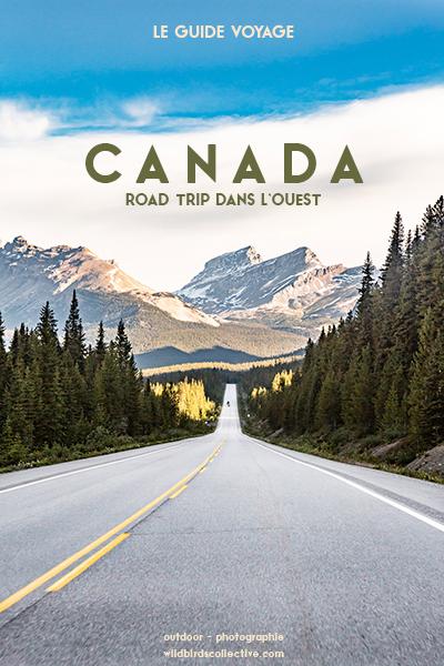 Road trip dans l'ouest canadien