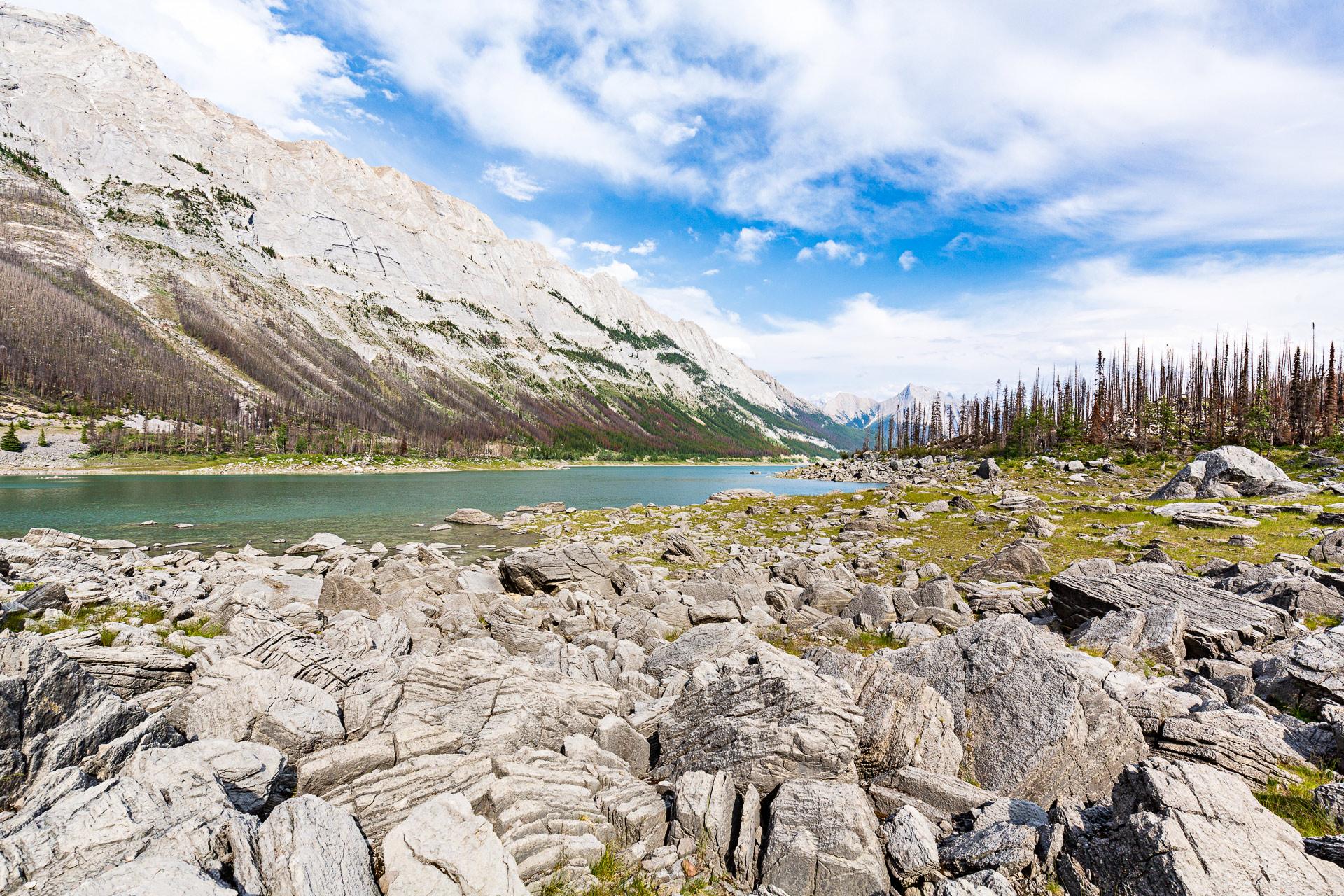Medicine Lake Jasper Alberta Canada