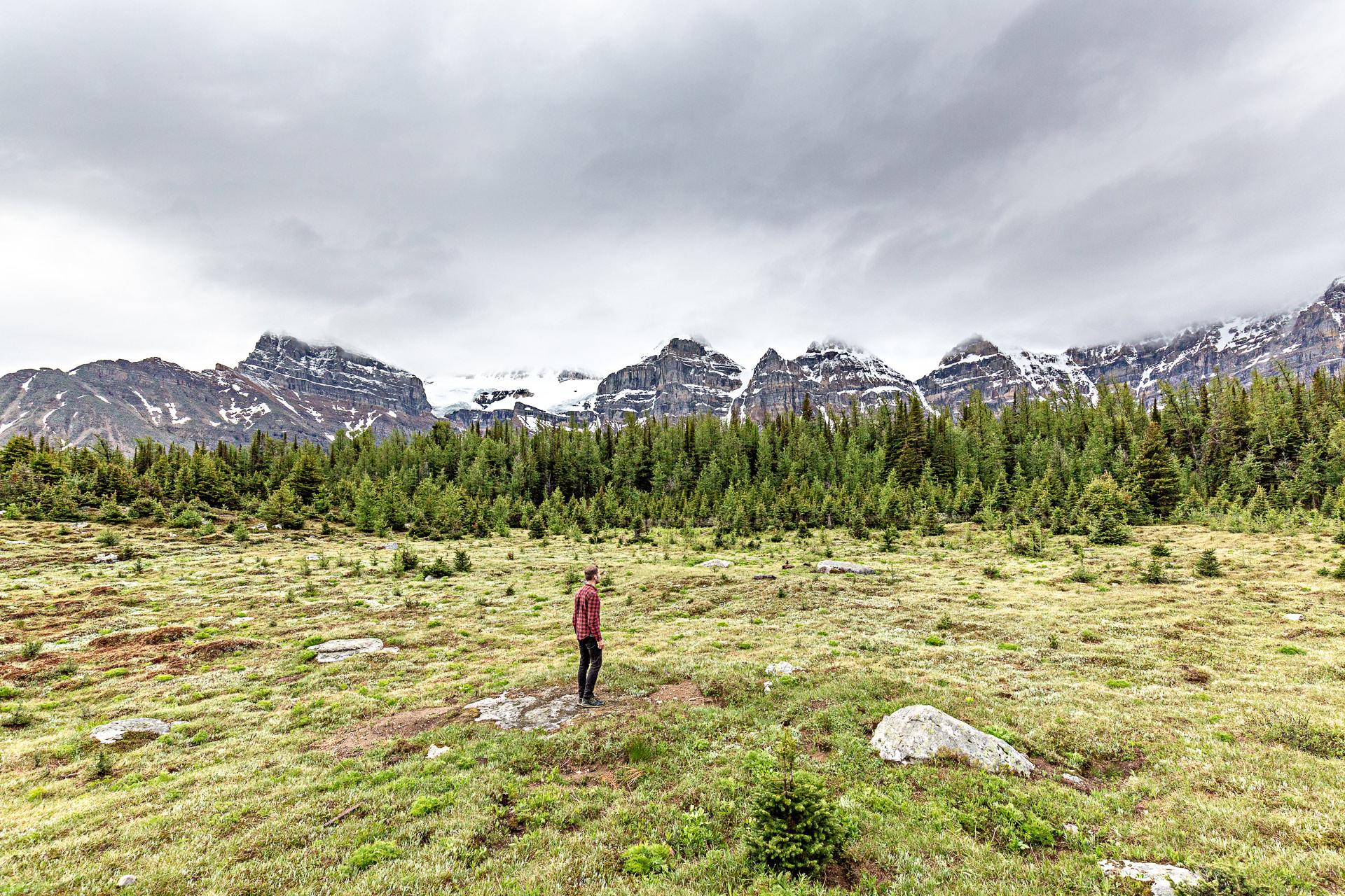 Vallée Dix Pics Banff Alberta Canada