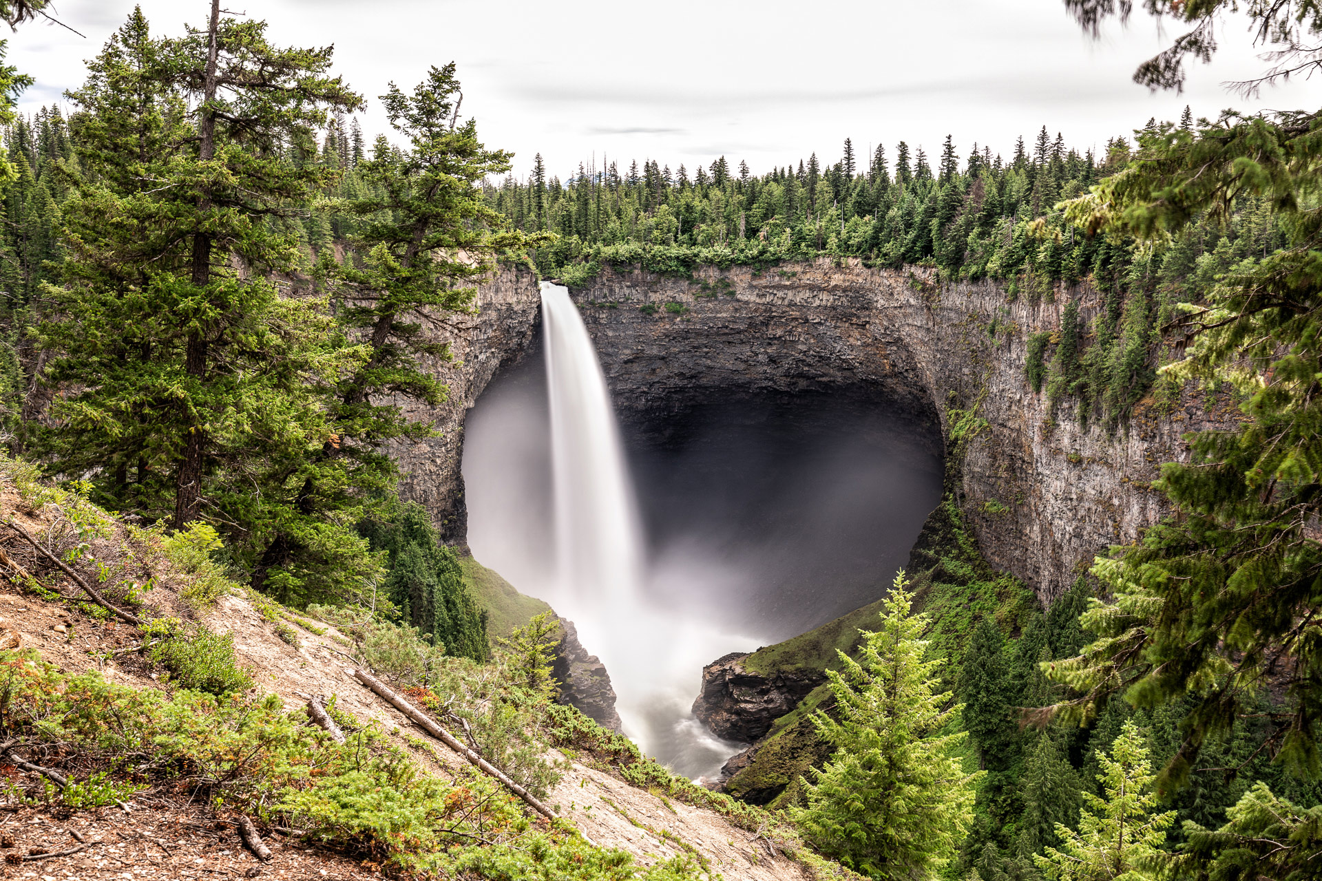 Helmcken Falls Wells Grey Canada BC