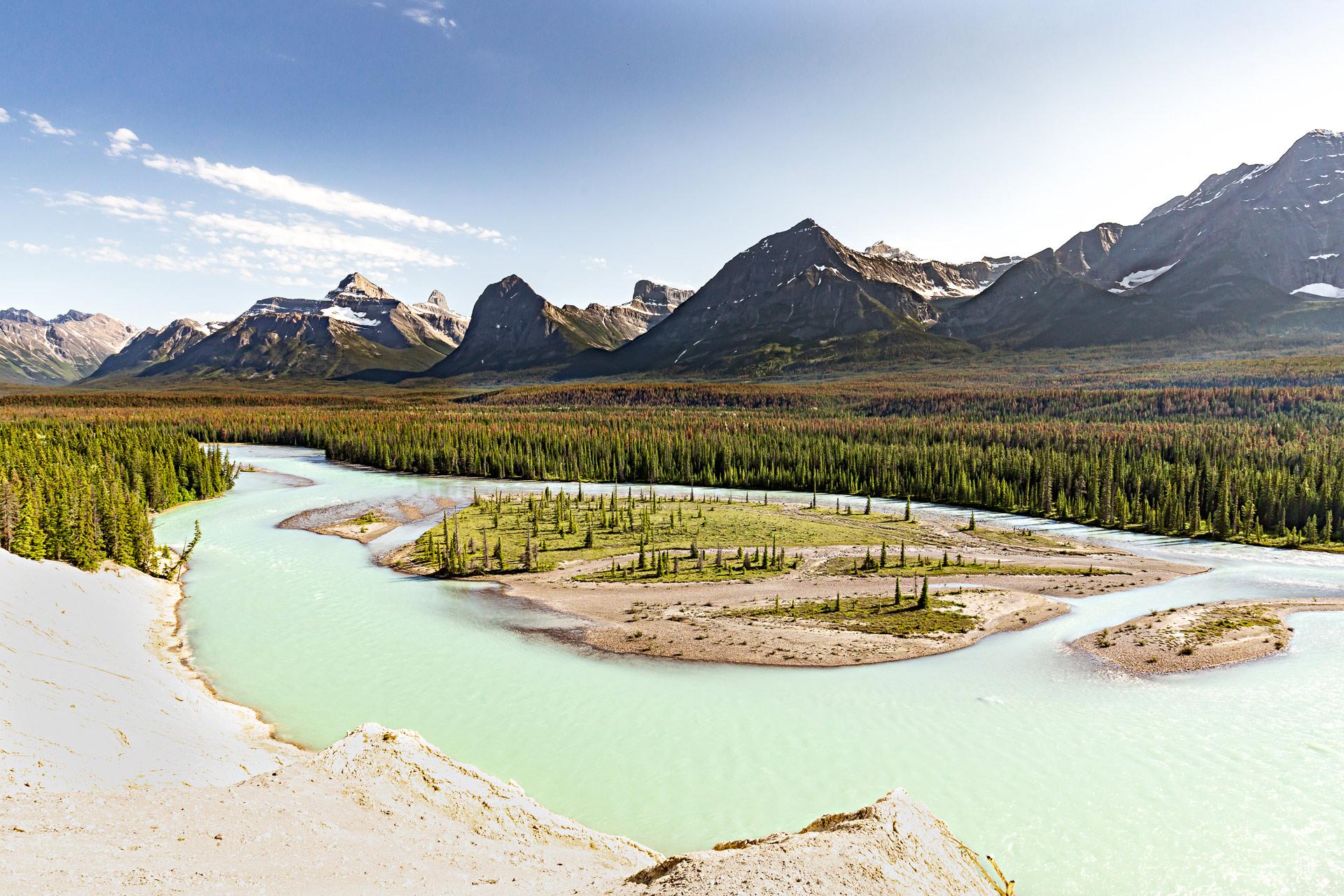 Rocheuses canadiennes promenade des glaciers