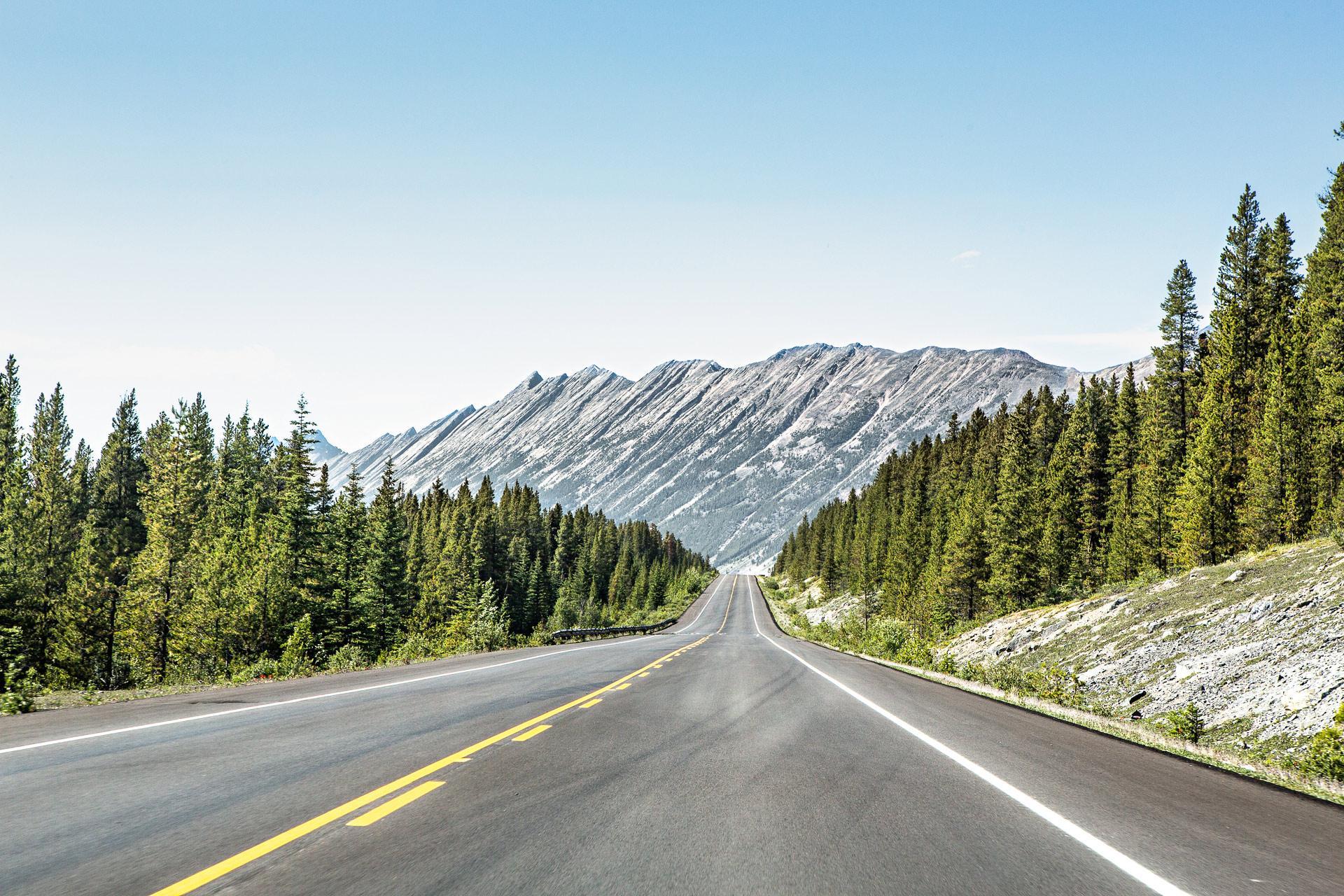 Icefields Parkway Jasper Alberta Canada