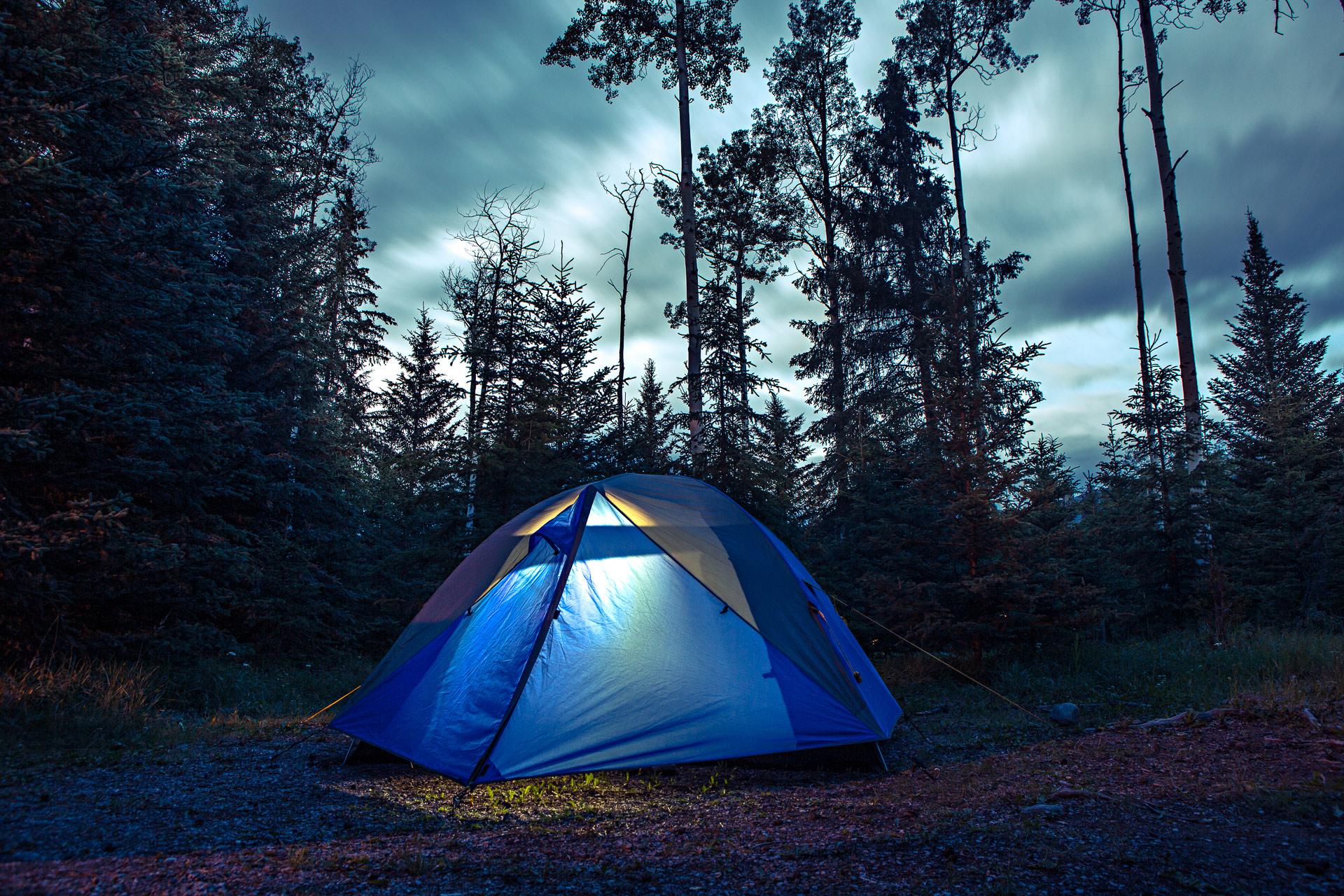 Camper au Canada