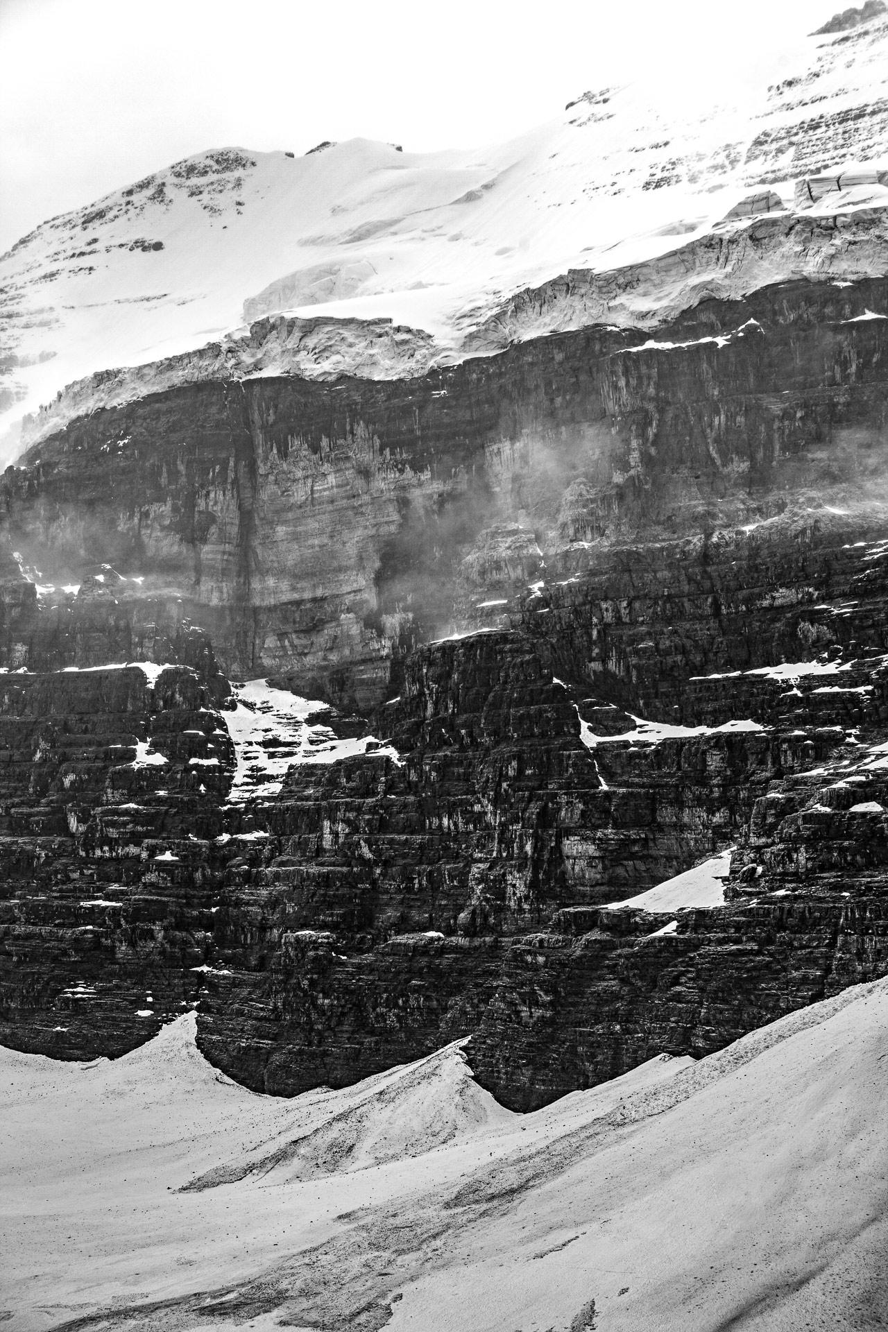 Glacier Victoria parc national de Banff Canada