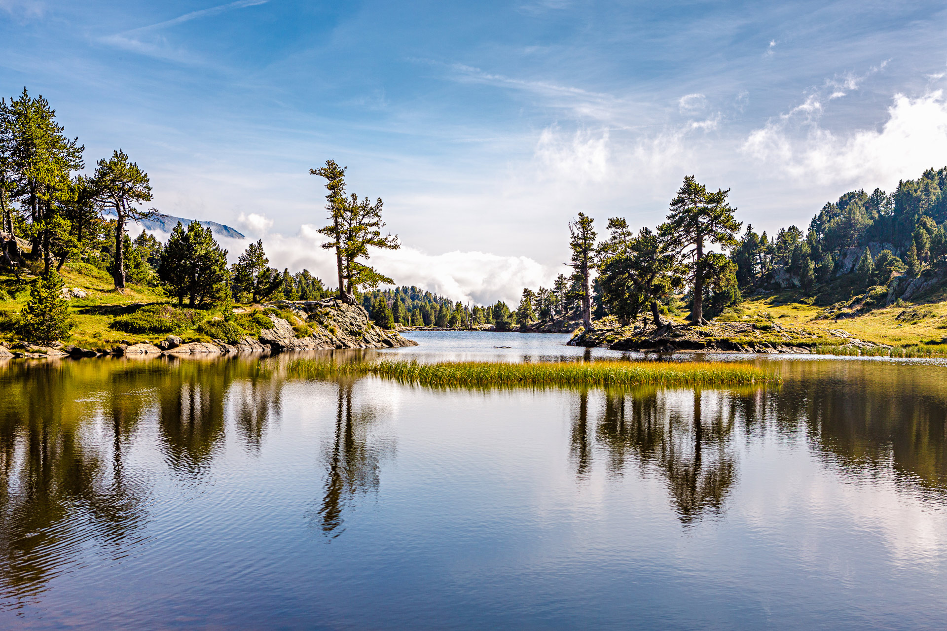 Randonnées autour de Grenoble lac Achard