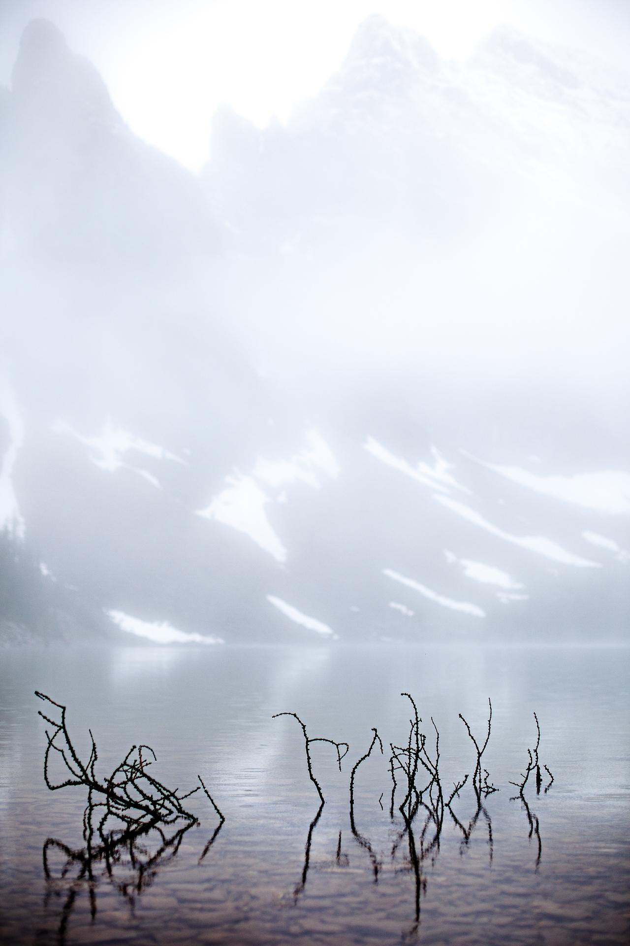 Lac Agnès parc Banff Canada ouest