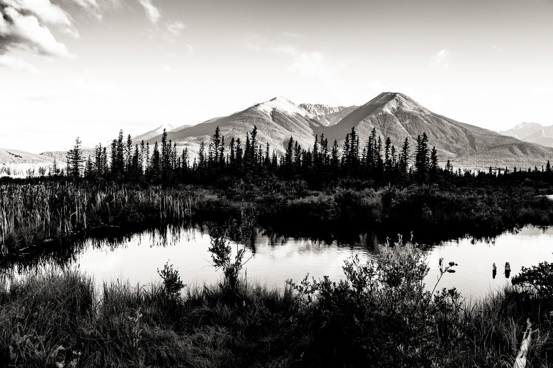 Lacs Vermilion parc national de Banff Canada
