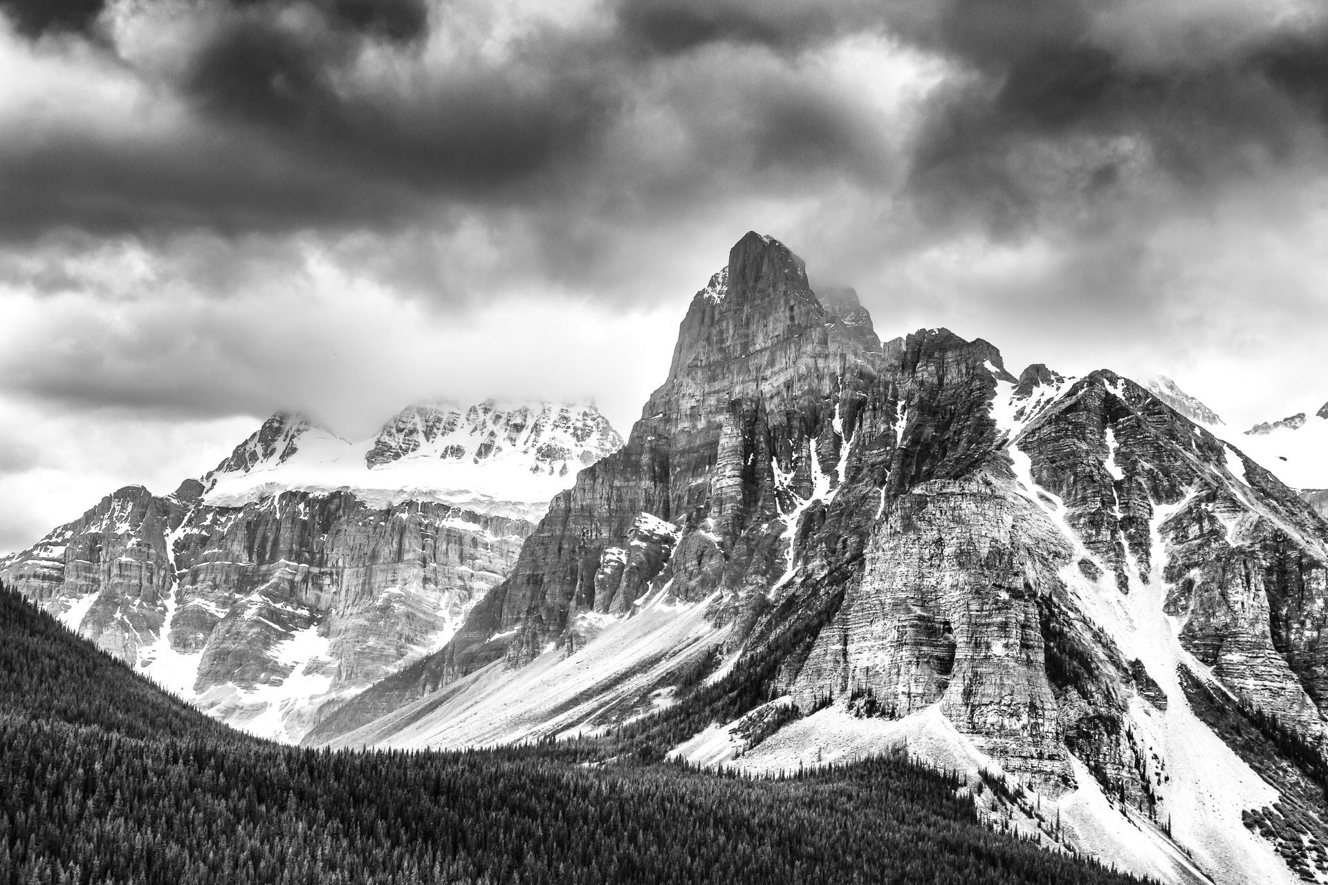 Mont Babel lac Moraine Banff Alberta Canada