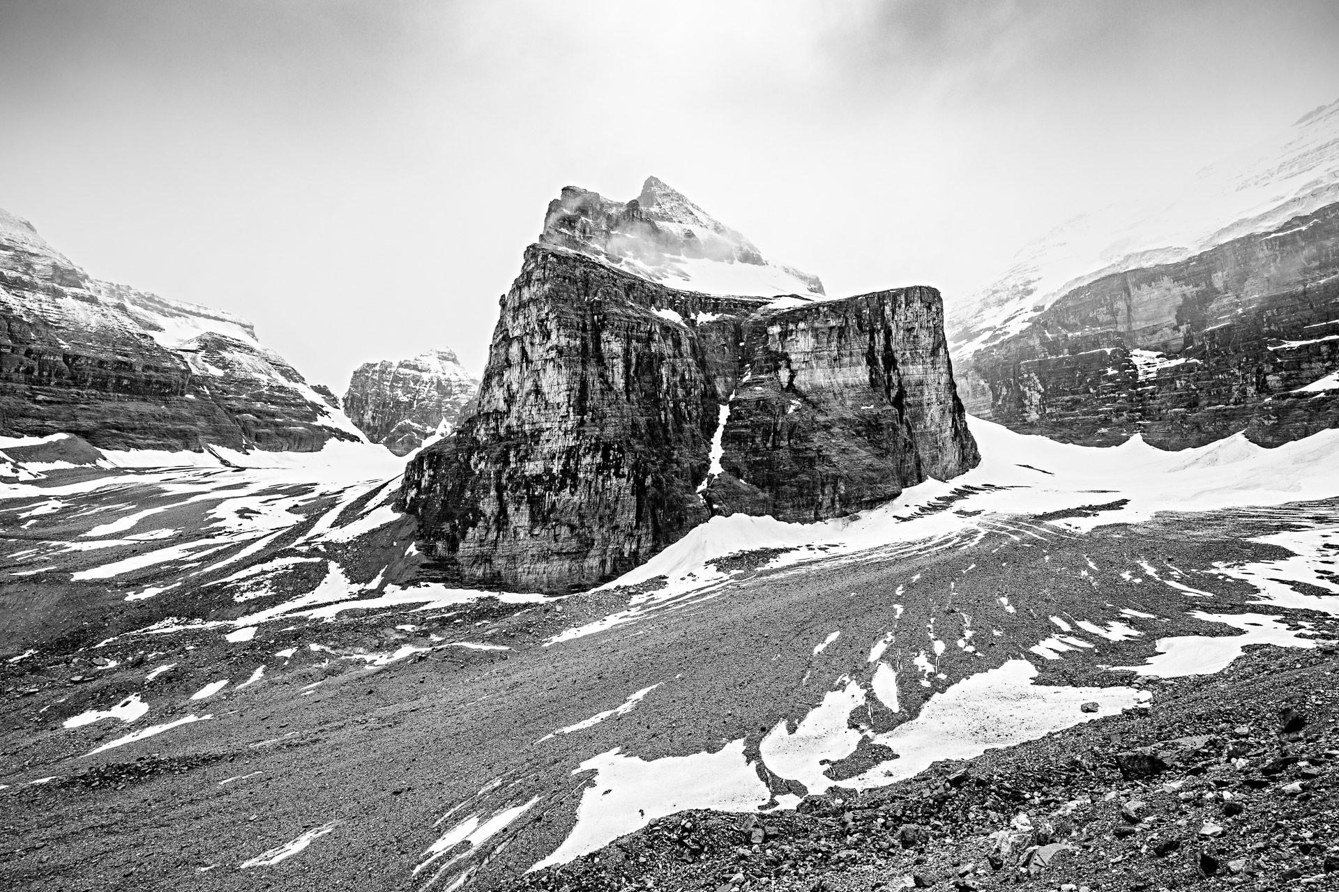 Mont Lefroy parc national de Banff Canada