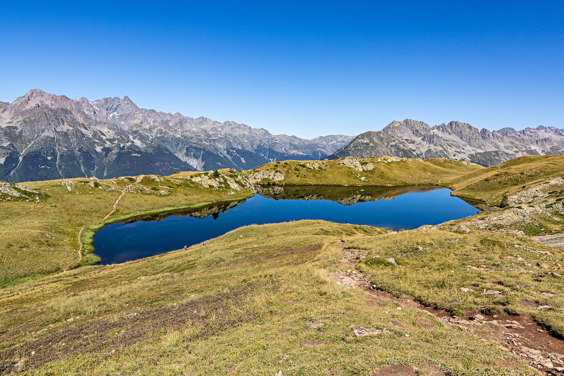 Randonnée Ronde des lacs Alpe Huez