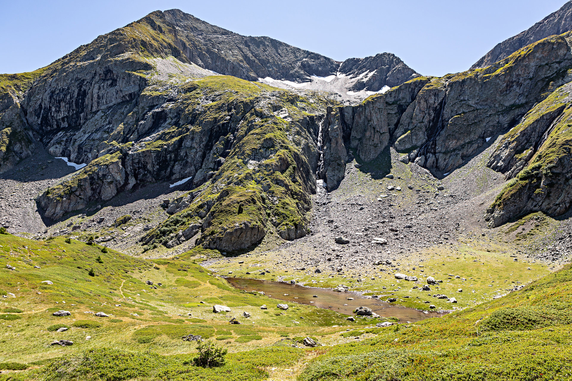 Randonnées autour de Grenoble plateau lac fourchu