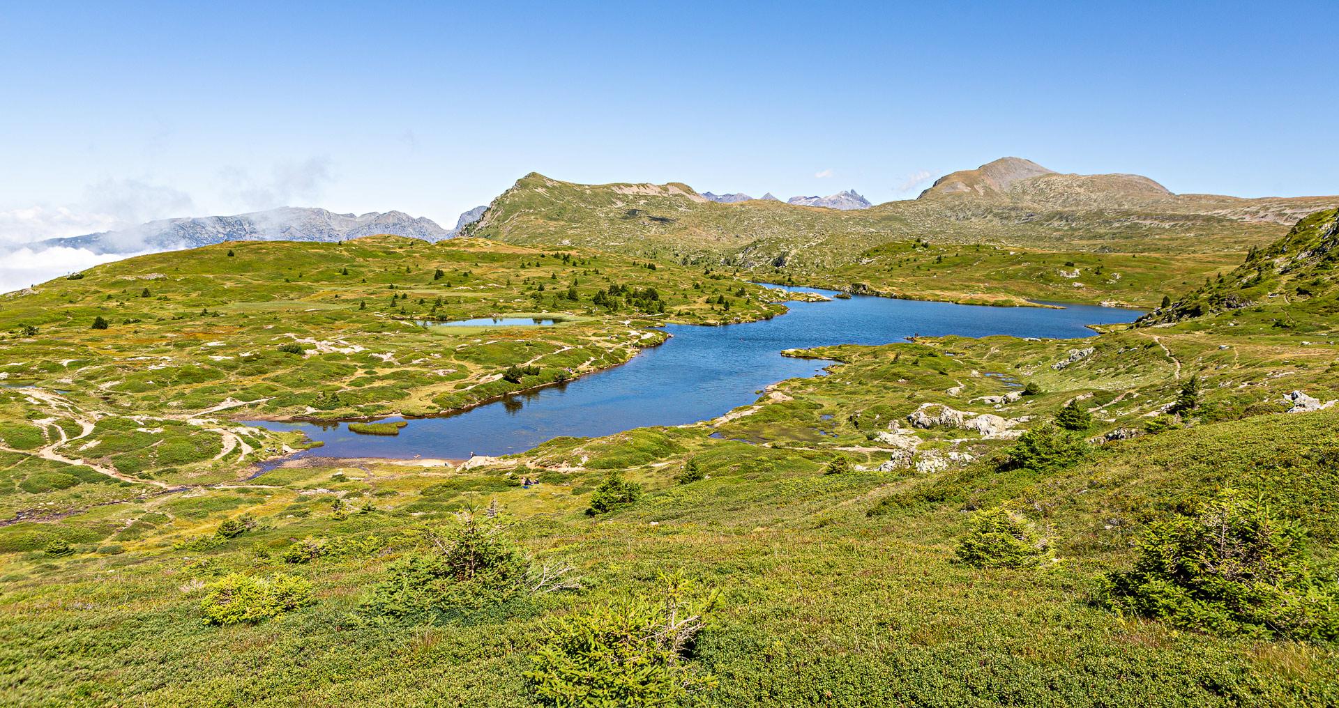 Randonnée plateau des lacs Taillefer