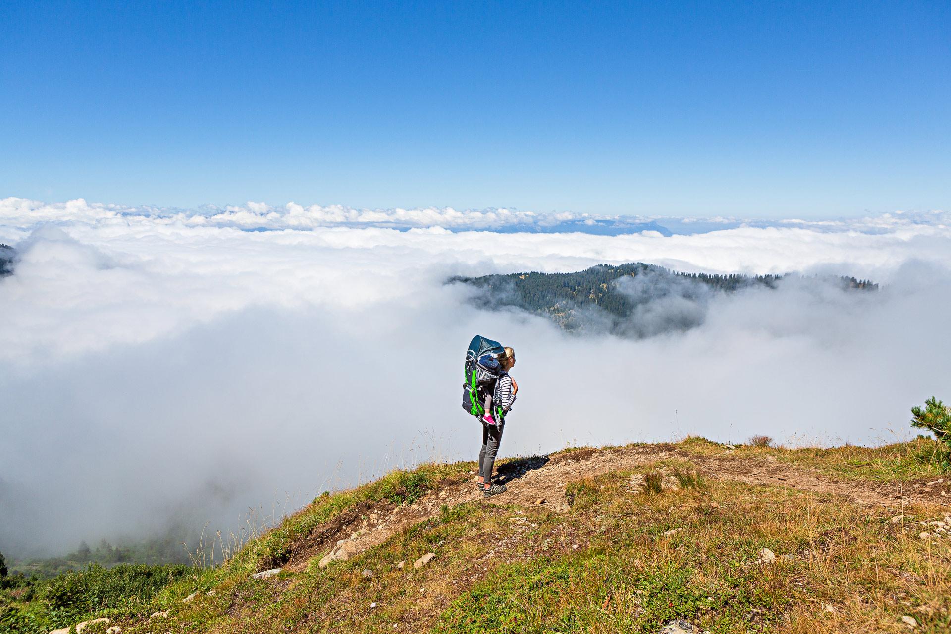 Randonnées plateau lac Fourchu en famille