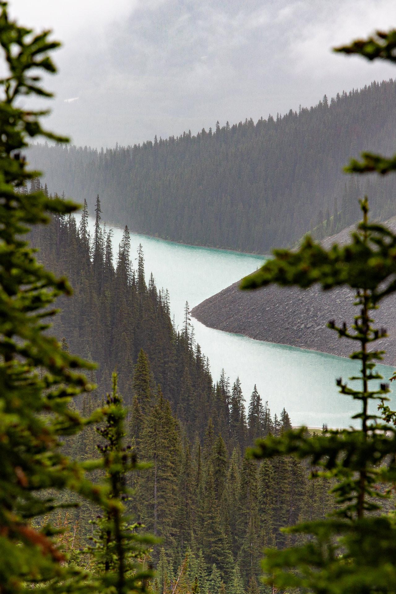 Lac Louise parc Banff Alberta Canada