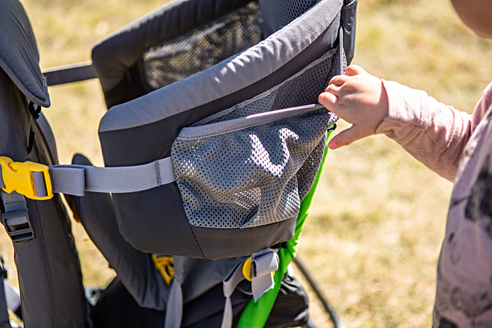 Porte-bébé Kid Air Comfort Deuter