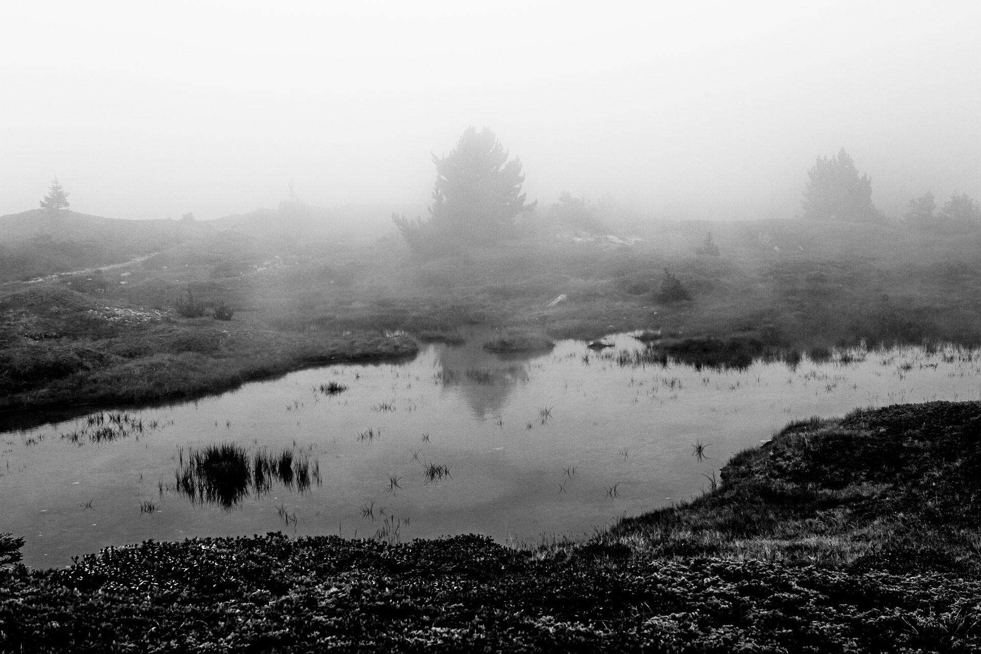 Lac plateau du lac Fourchu