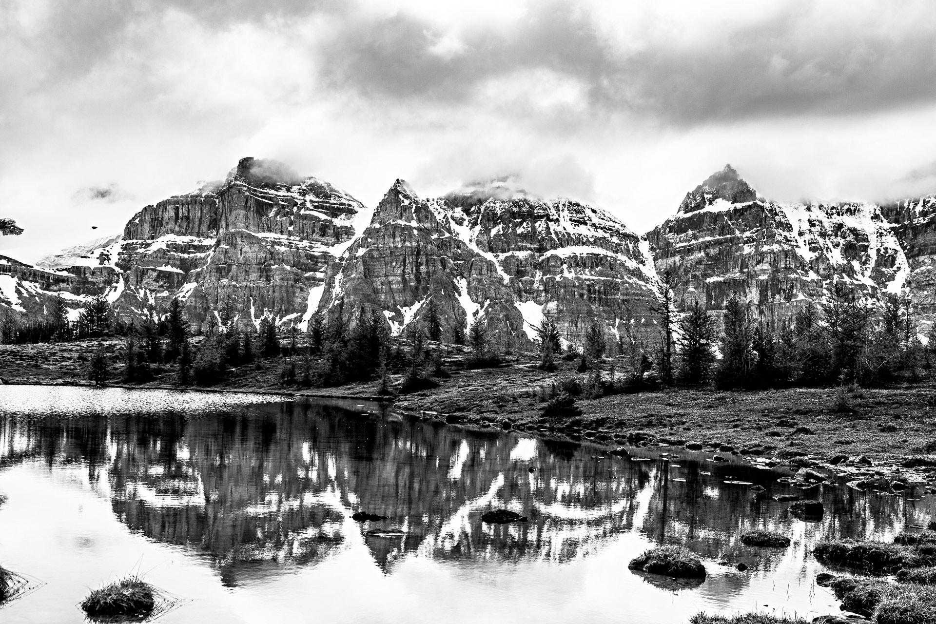 Vallée Dix-Pics parc national de Banff Canada