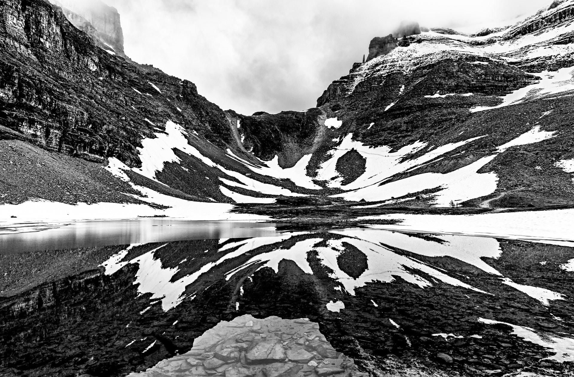 Randonnée Sentinel Pass parc national de Banff Canada