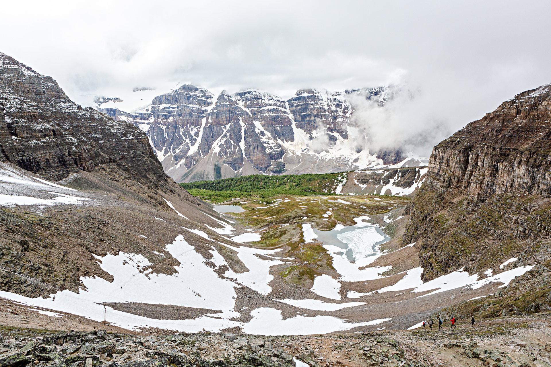 Randonnée vallée Dix-Pics Banff Canada