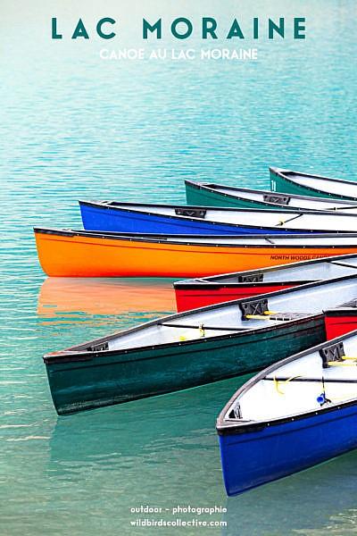Lac Moraine Alberta Canada